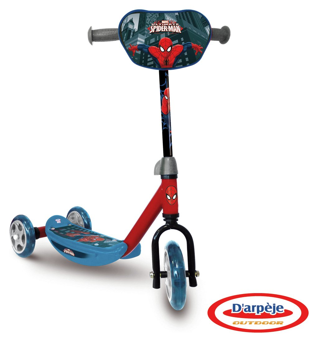 Buy Marvel Spider Man Tri Scooter Scooters Argos