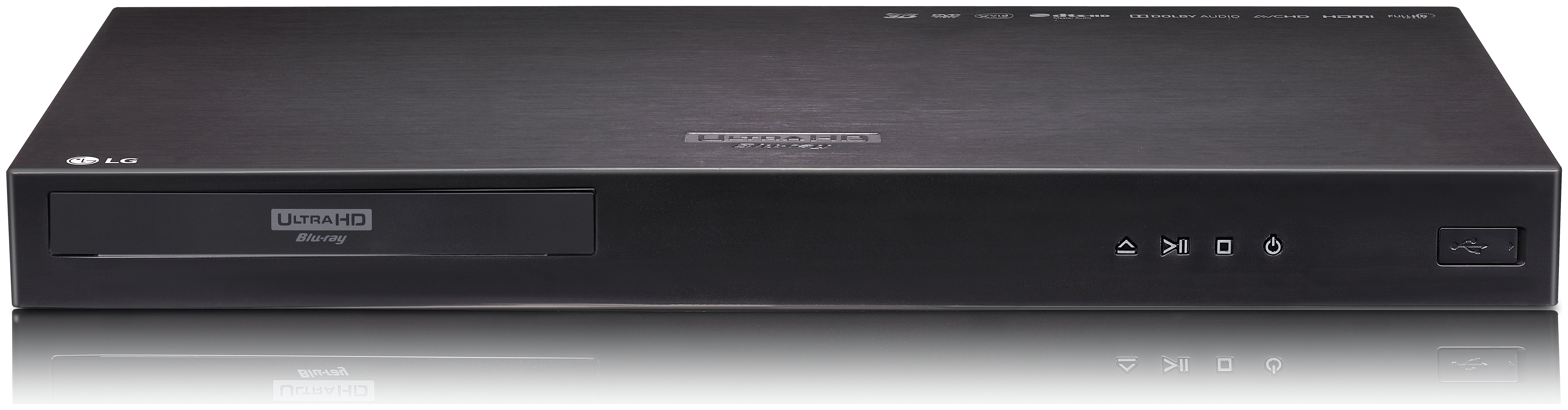Image of LG UP970 4K UHD Blu-ray/DVD Player with HDR Compatibility