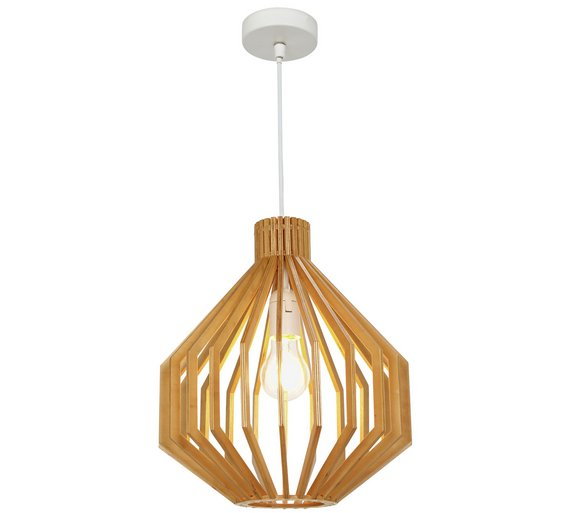 Collection anders wooden pendant ceiling light