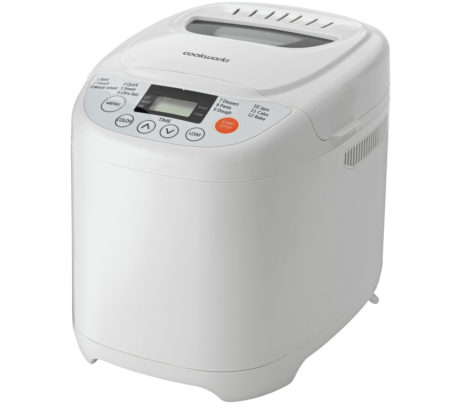 Wilko Breadmaker Black