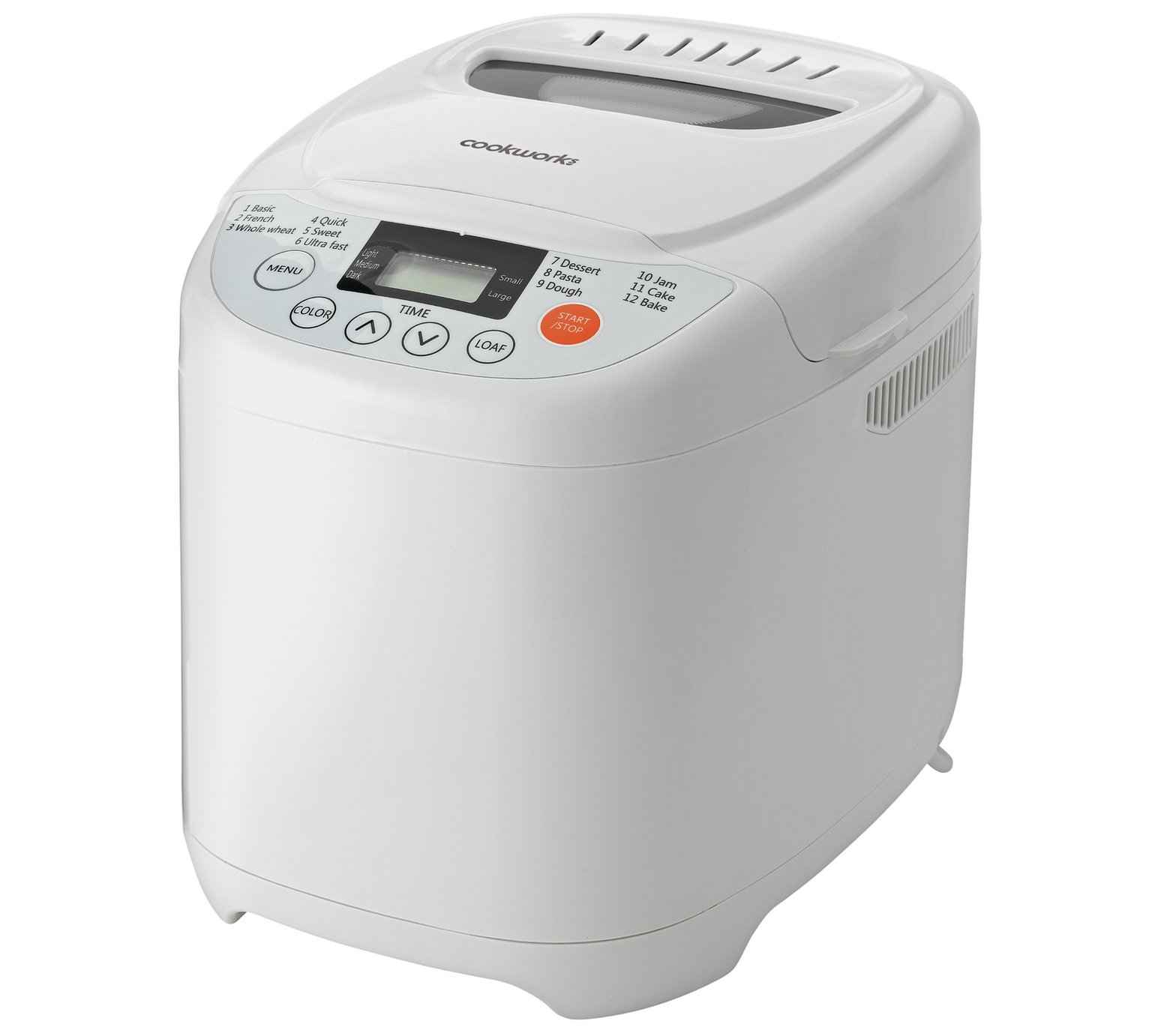 Cookworks Breadmaker - White