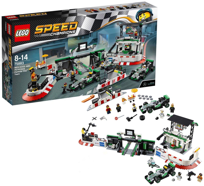 Image of LEGO Speed Champions Mercedes Petronas F1 - 75883