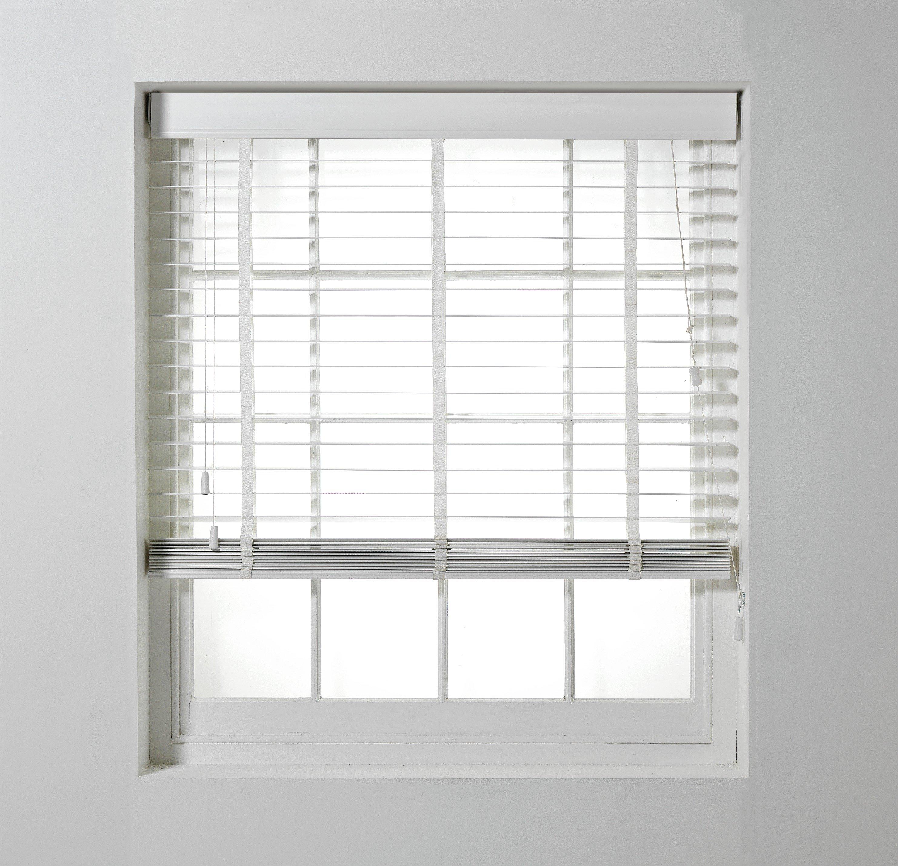 Heart Of House Shutter Effect Blind 140x160cm White