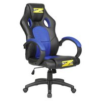 BraZen Shadow PC Gaming Chair - Black and Blue.