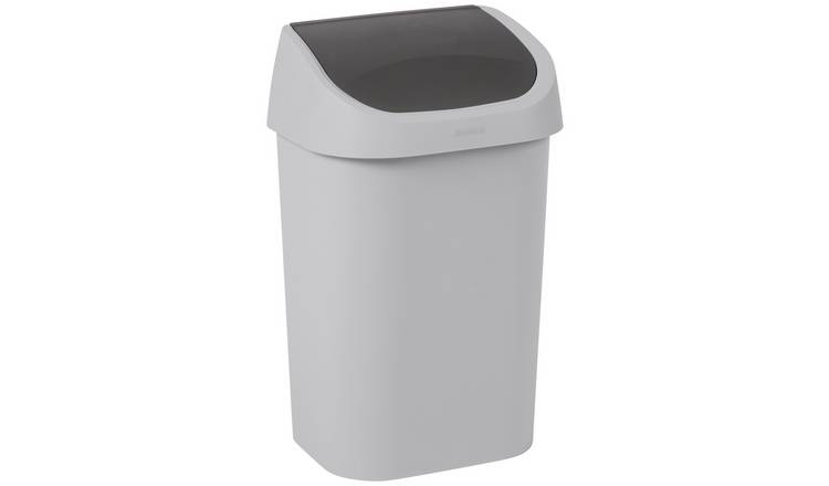 Buy Curver Mistral 25l Small Swing Bin Grey Kitchen Bins Argos