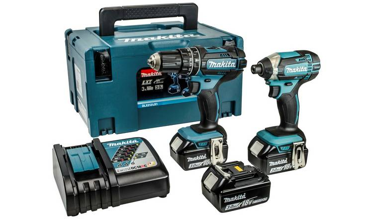 Buy Makita LXT Combi and Impact Driver Twinpack - 18V | Drills | Argos