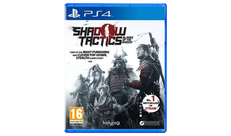Buy Shadow Tactics: Blade of the Shogun PS4 Game | PS4 games | Argos