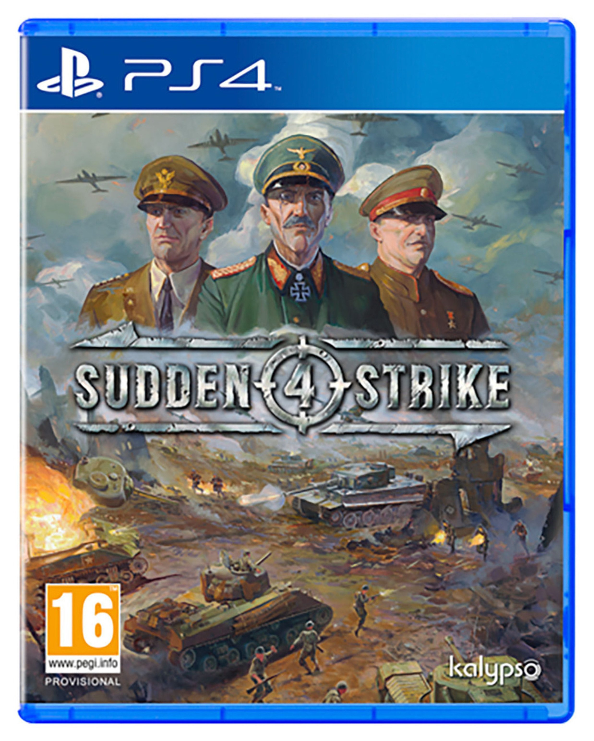 Sudden Strike 4 PS4 Game