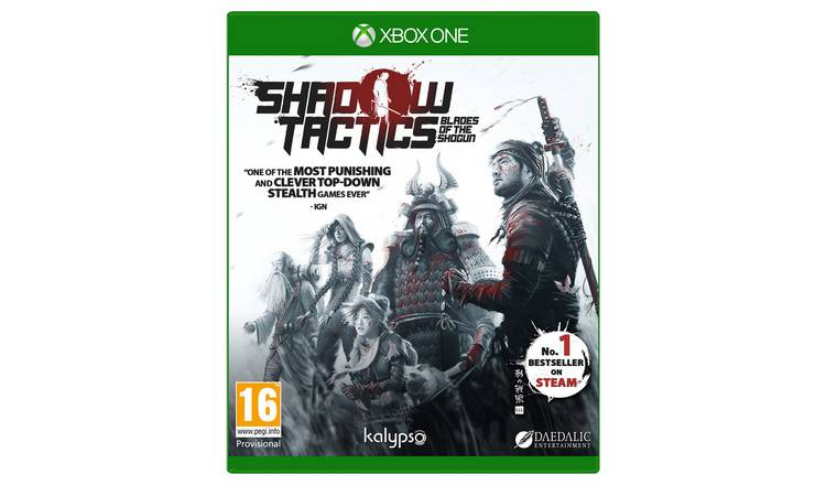 Shadow Tactics: Blade of the Shogun Xbox One Game.