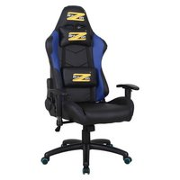 BraZen Shadow Pro PC Gaming Chair - Black and Blue.