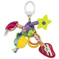 Lamaze Tug and Play Knot On the Go Toy.