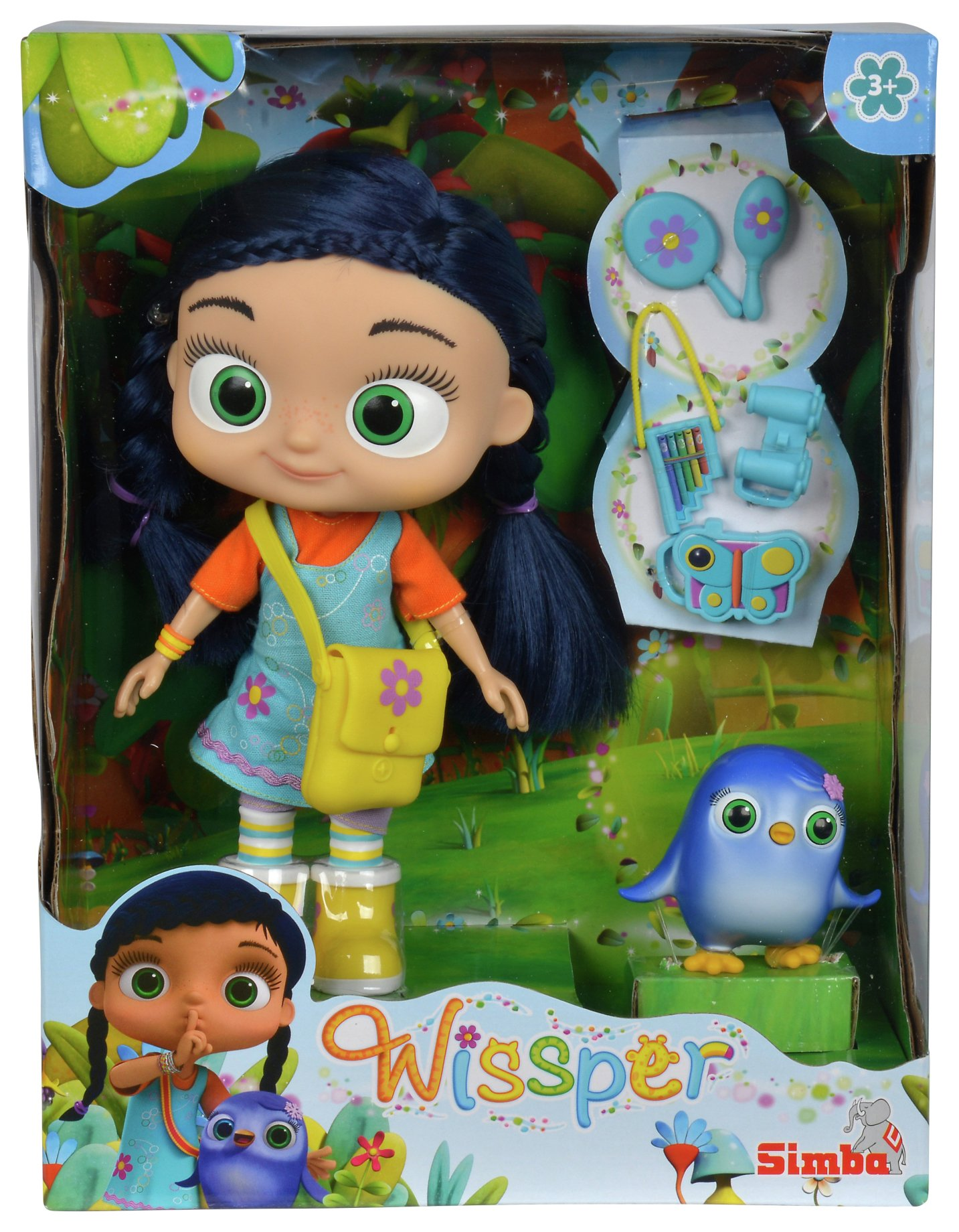 Wissper 8.5 Doll and Peggy Figure