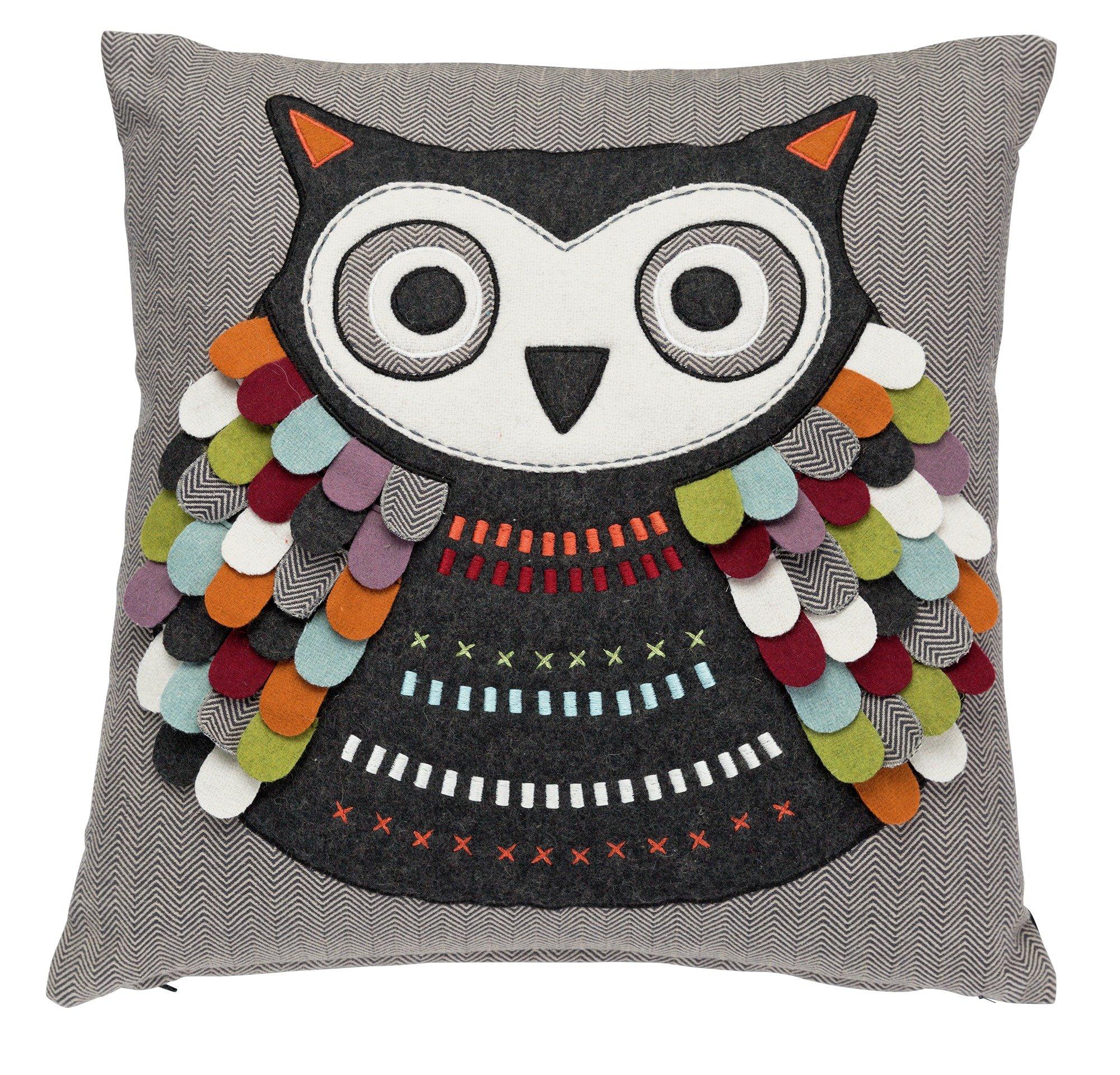 heart of house oola owl cushion gay times uk. Black Bedroom Furniture Sets. Home Design Ideas