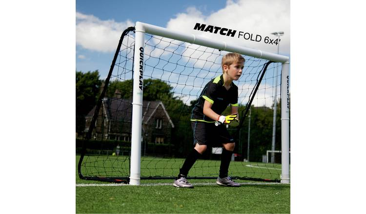 Match Fold 6ft x 4ft Football Goal