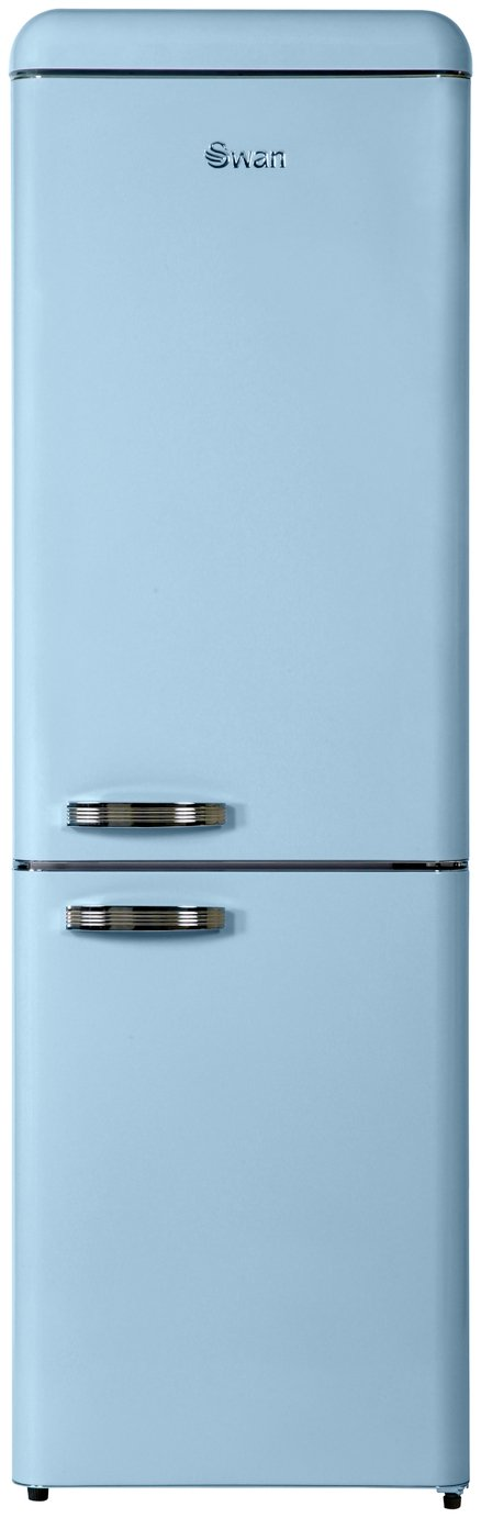 Swan SR11020FBLN Fridge Freezer - Blue