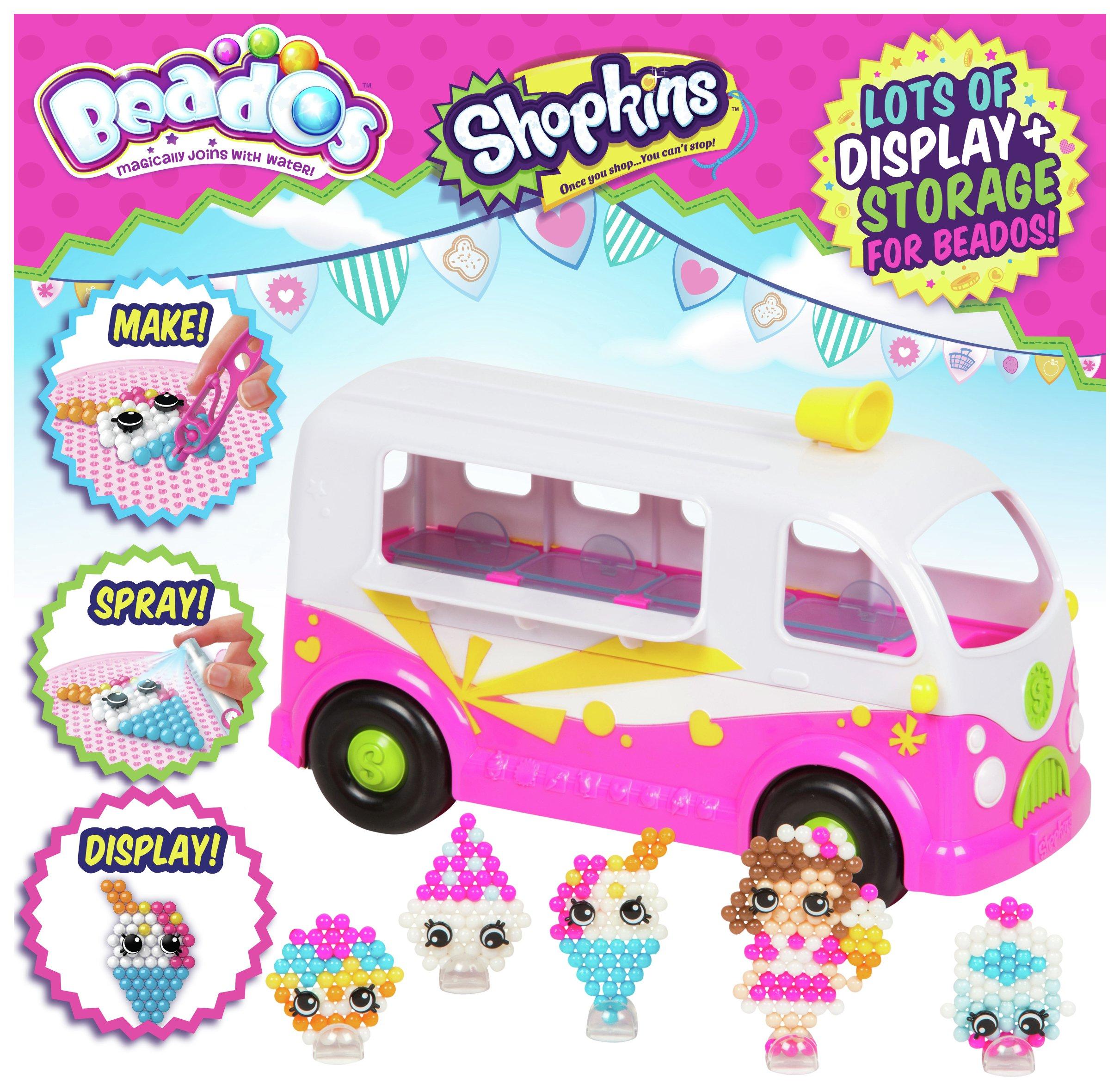 Image of Beados Shopkins Ice Cream Van