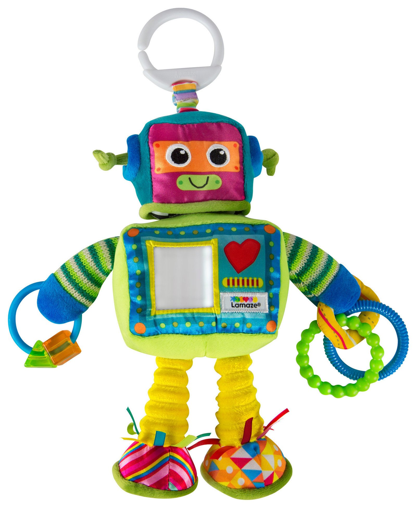 Image of Lamaze Rusty the Robot On the Go Toy.