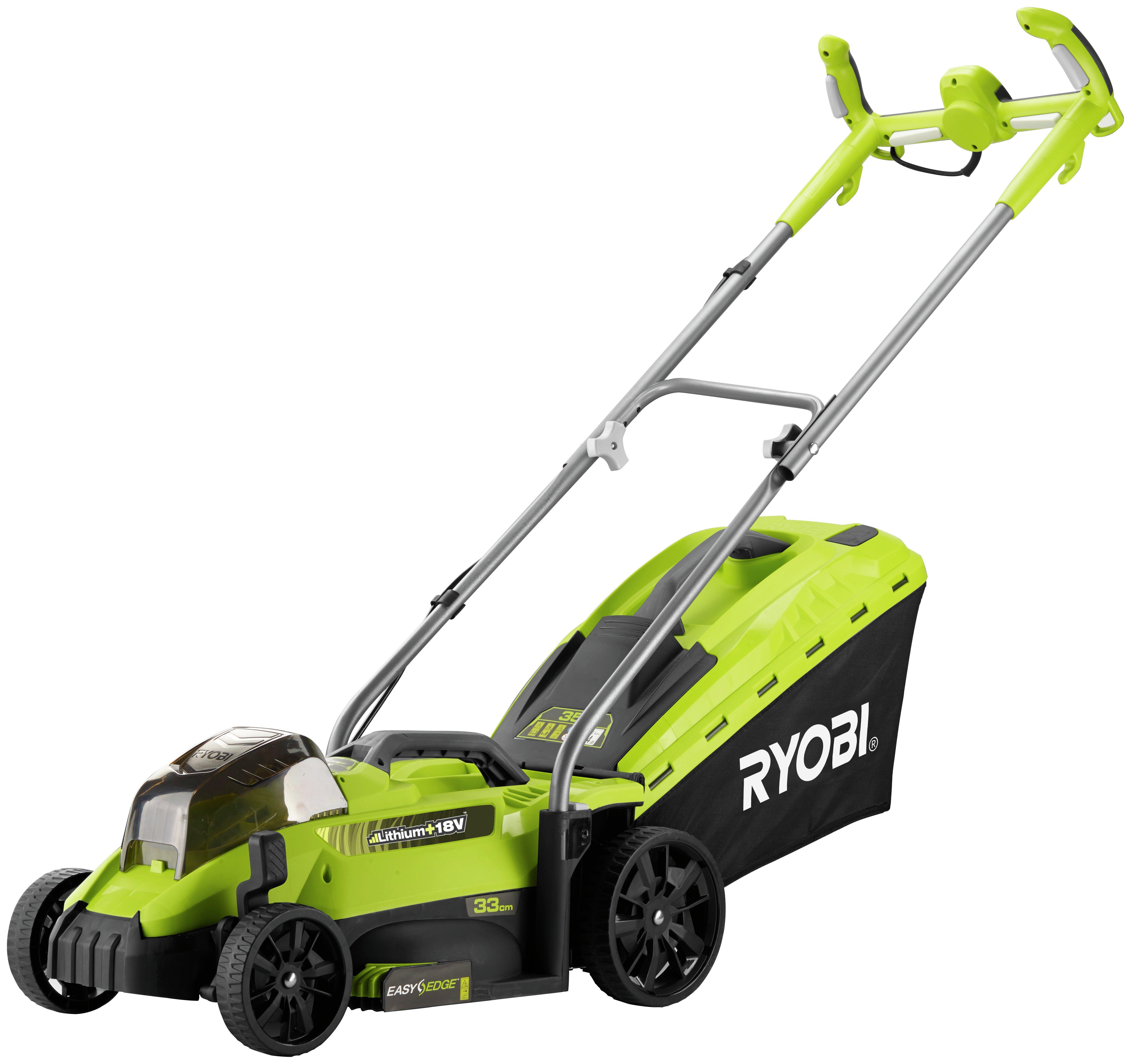 Ryobi 18V 33cm Bare Lawnmower - No Battery.