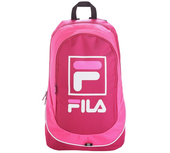 FILA Medium Backpack Compartment Along With An Additional Front Compartment  Pink