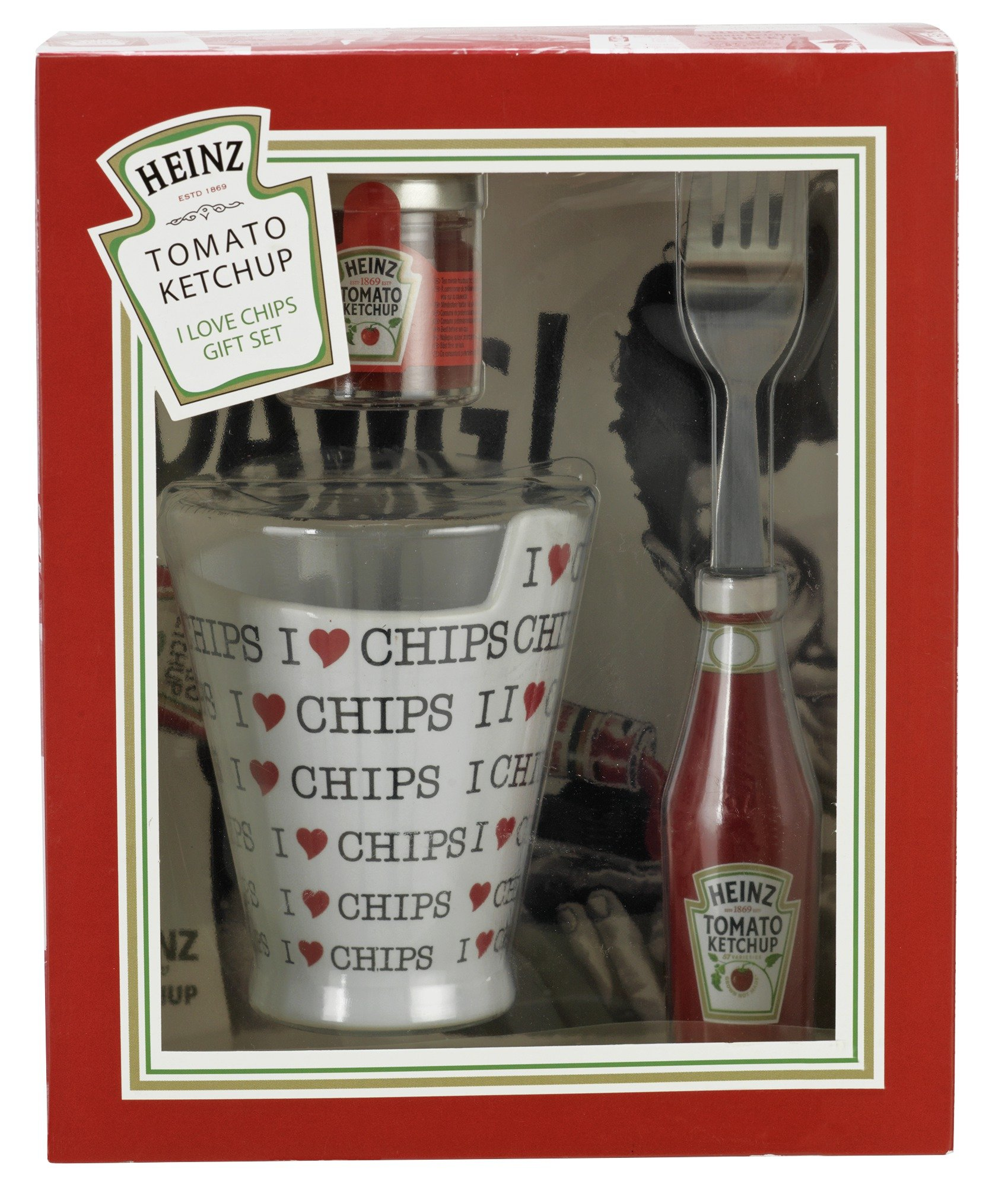 Heinz Ketchup I Love Chips Gift Set.