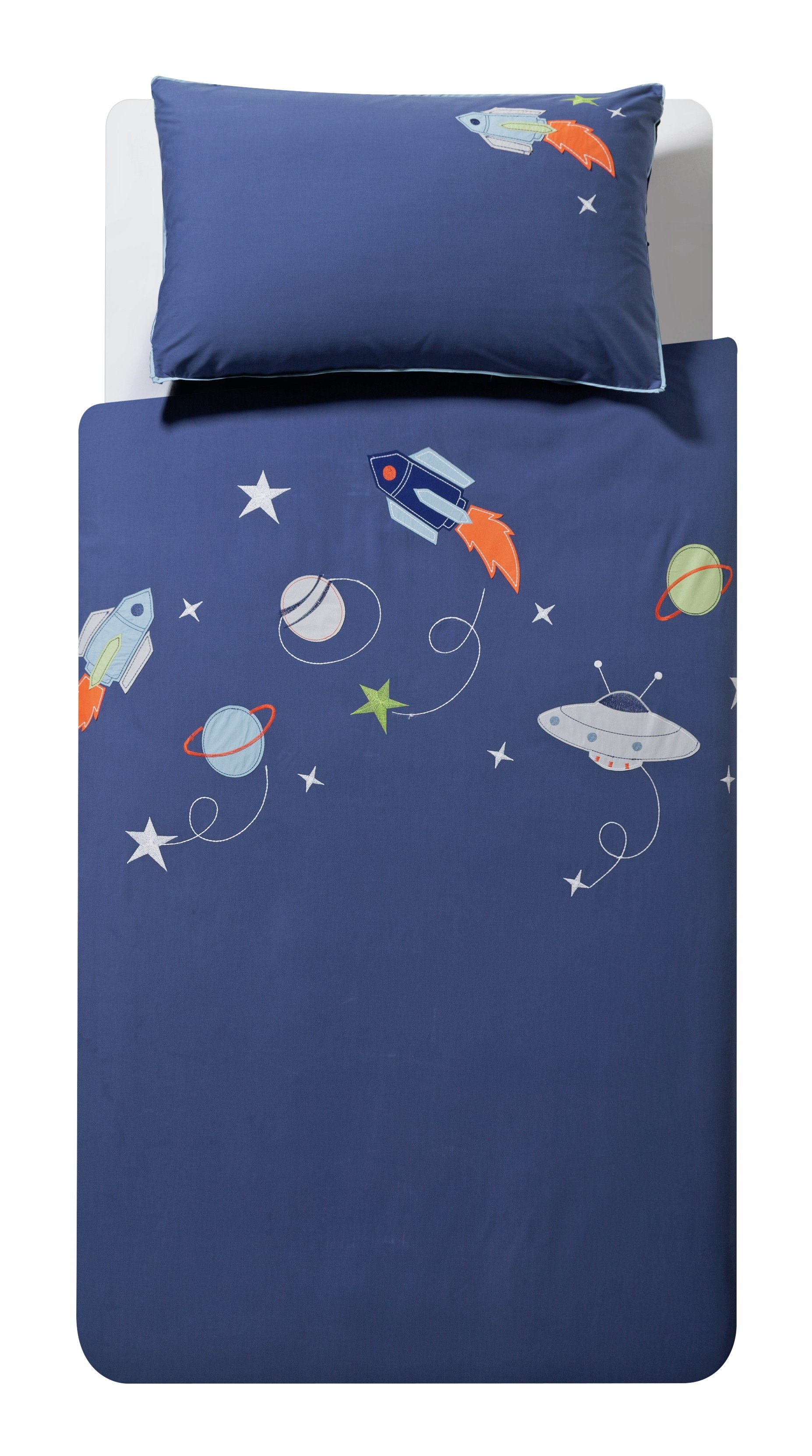collection space bedding set  single