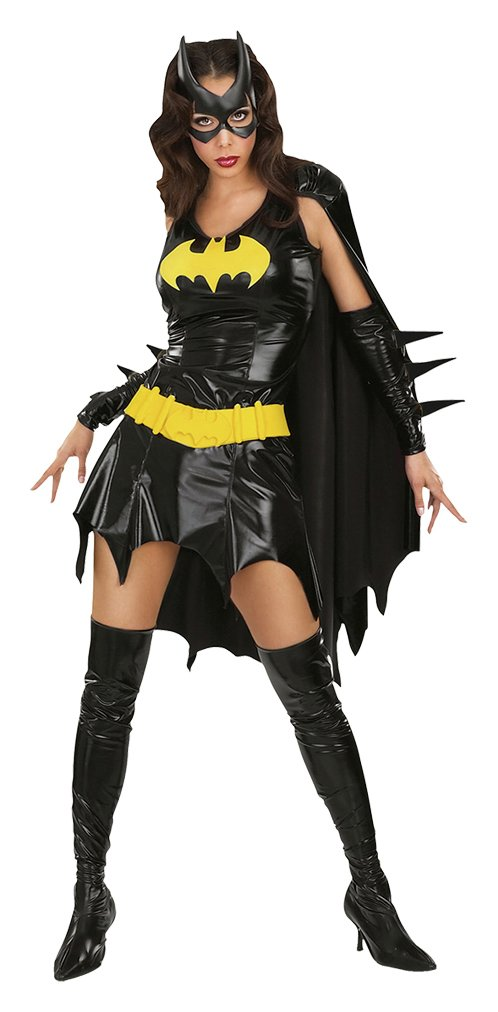 Image of DC Batgirl Fancy Dress Costume - Size 12-14
