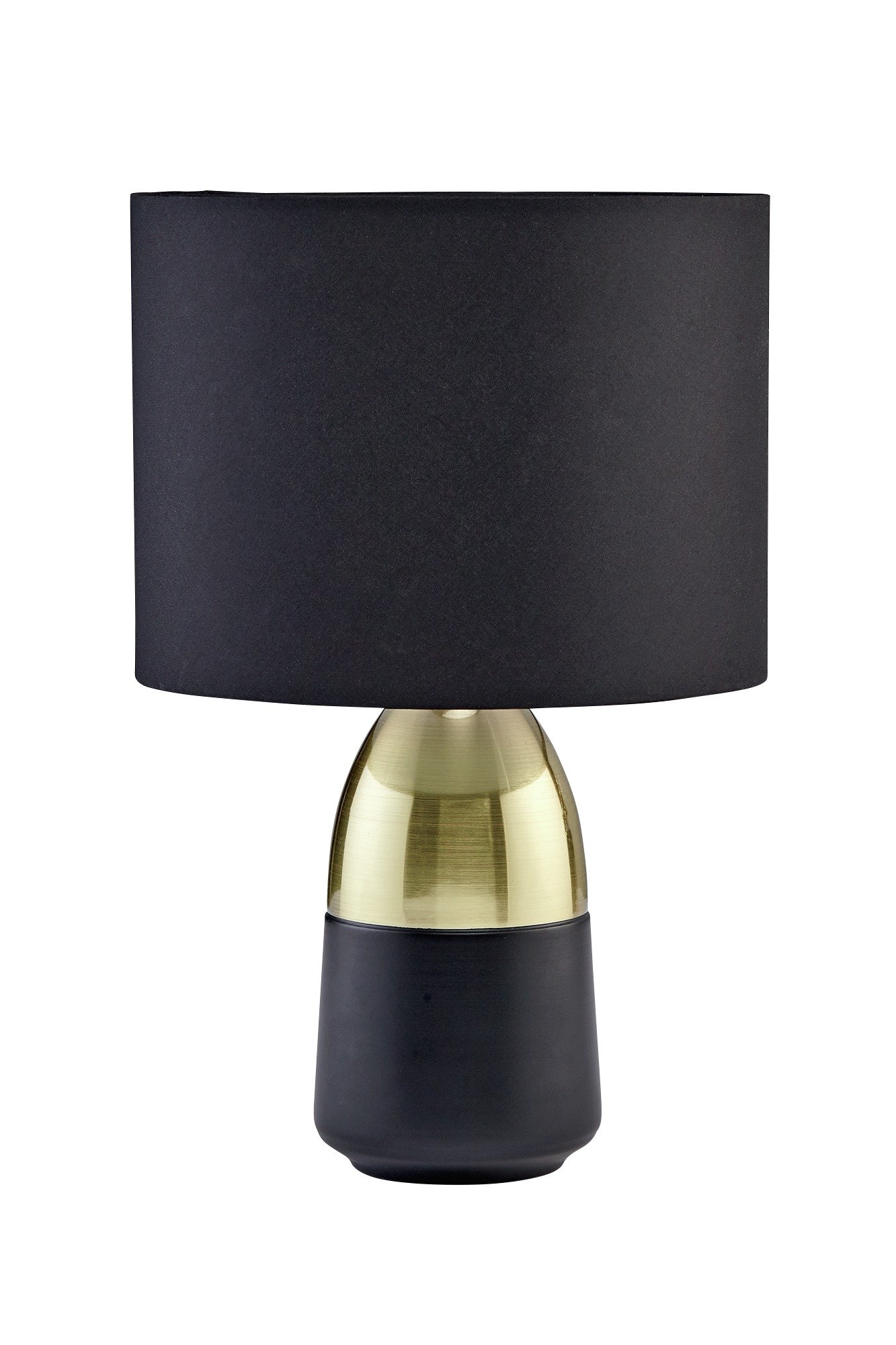 Argos Home Duno Touch Table Lamp - Black & Brass