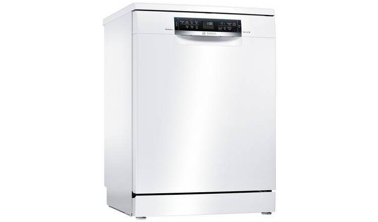 Bosch SMS67MW00G Full Size Dishwasher - White