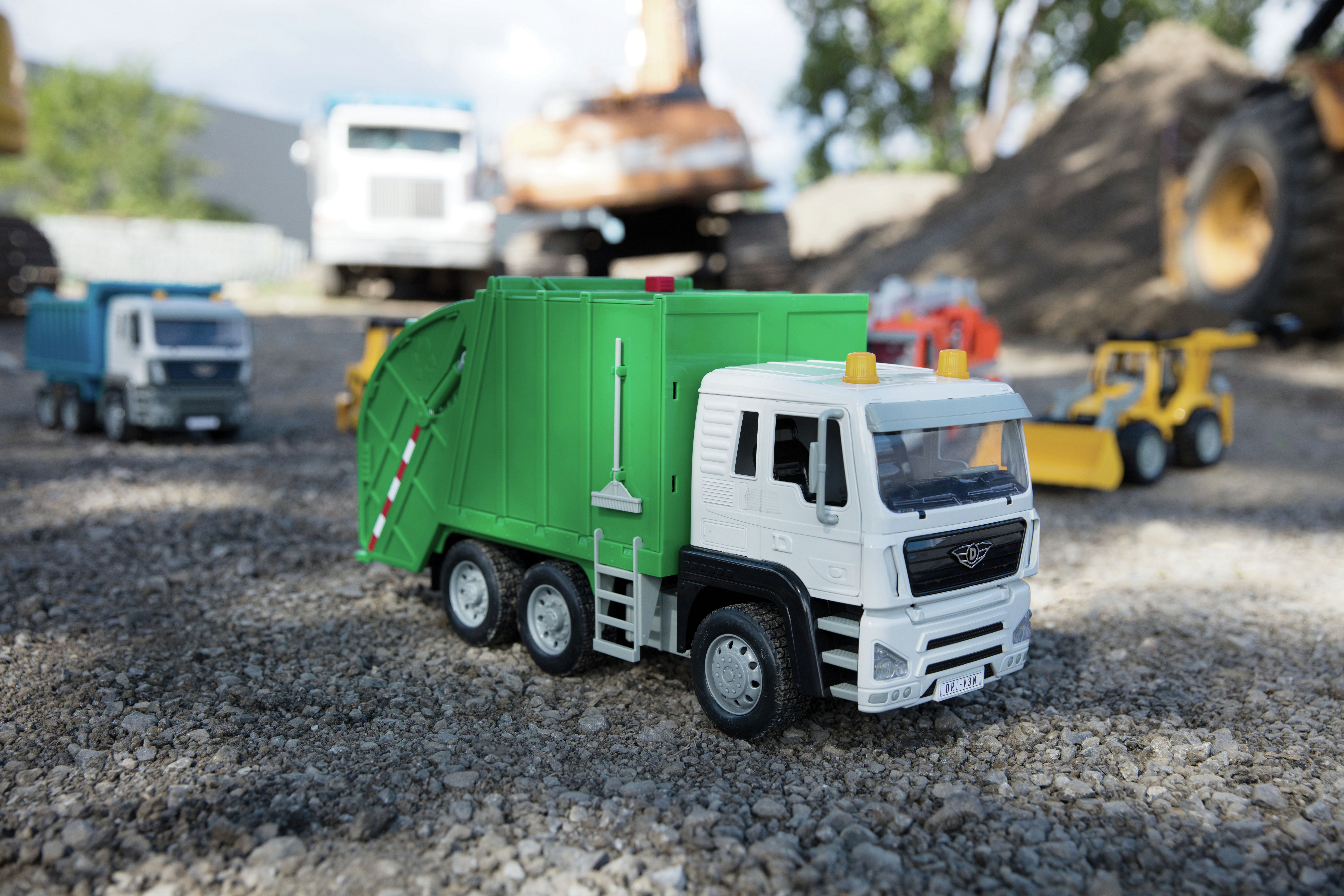Driven Recycling Truck