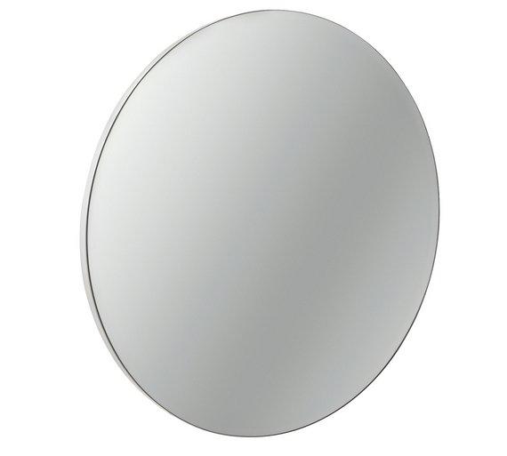 Buy HOME Circular Bathroom Mirror Cabinet At Argoscouk