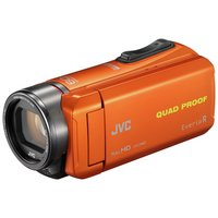 JVC GZ-R435 Full HD Camcorder - Orange.