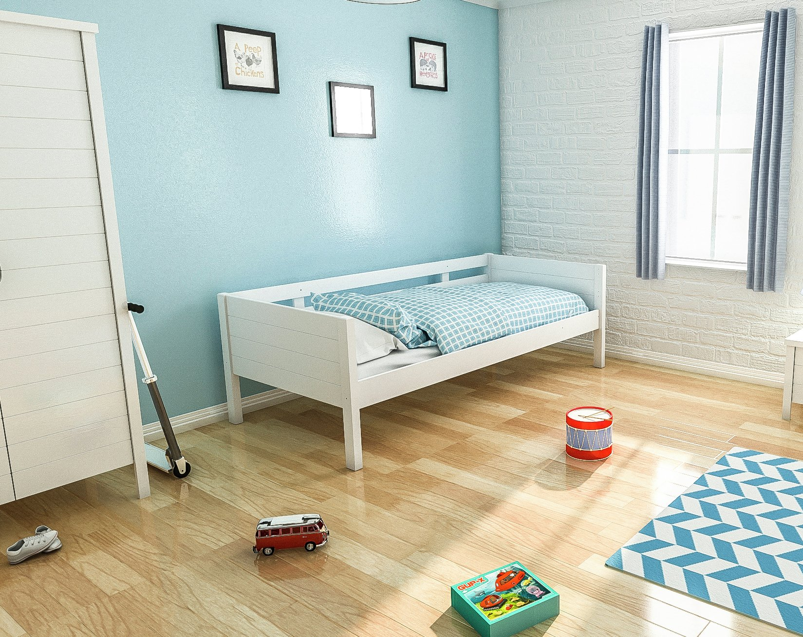 Jango Day Bed - White