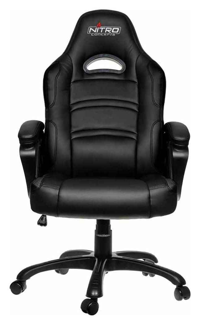 Miraculous Nitro Concepts C80 Comfort Gaming Chair Black 6989187 Andrewgaddart Wooden Chair Designs For Living Room Andrewgaddartcom