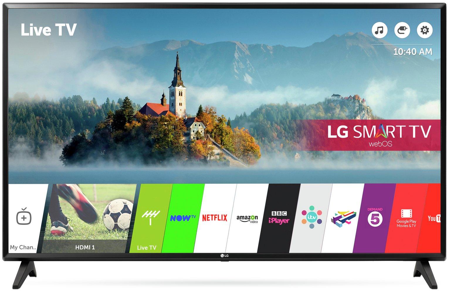 LG 49LJ594V 49 Inch Smart Full HD TV