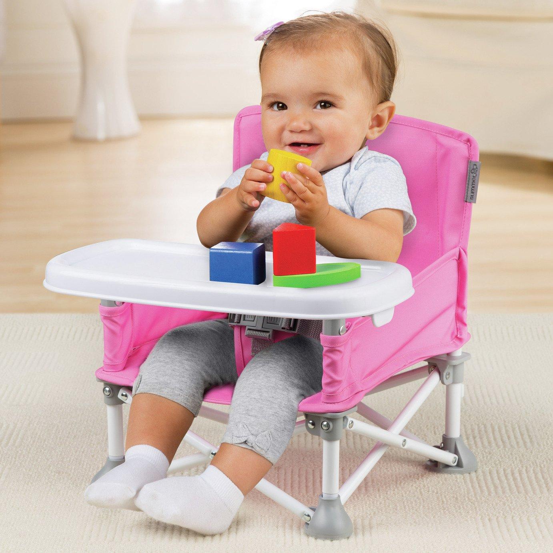 Summer Infant Pop N Sit Booster Seat - Pink