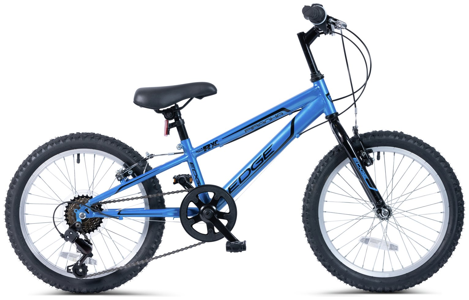 Piranha 18 Inch Edge 6 Speed Kids Mountain Bike