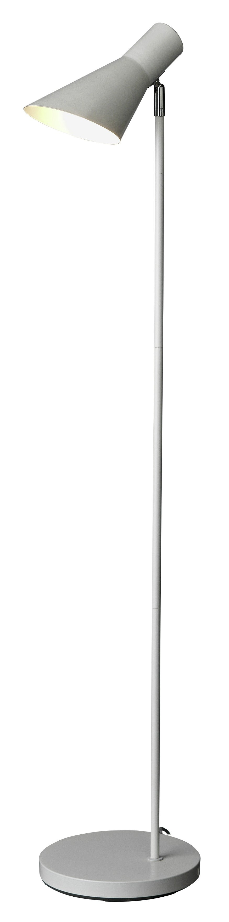 hygena spot floor lamp  white