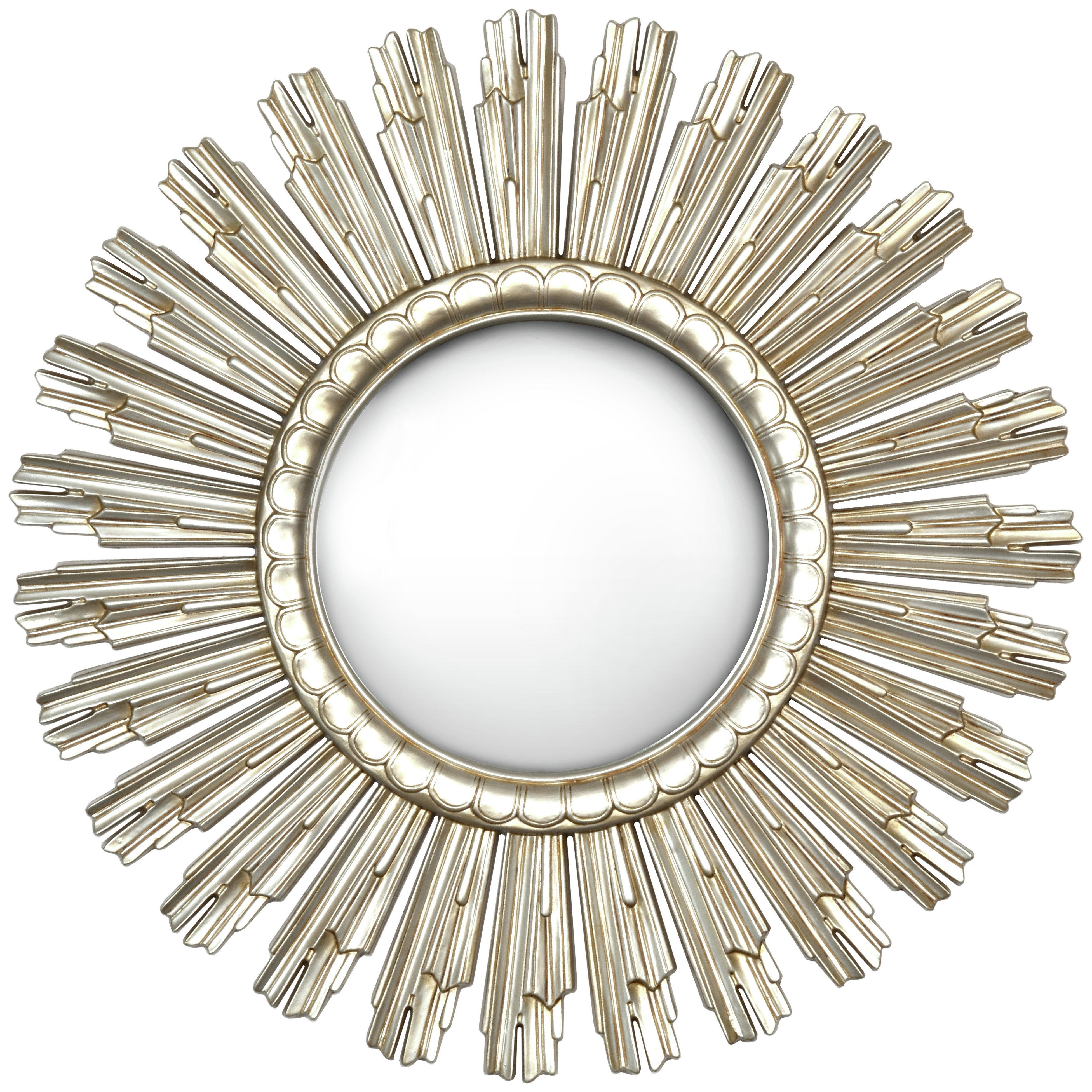 Sundial Mirror - Champagne Gold.