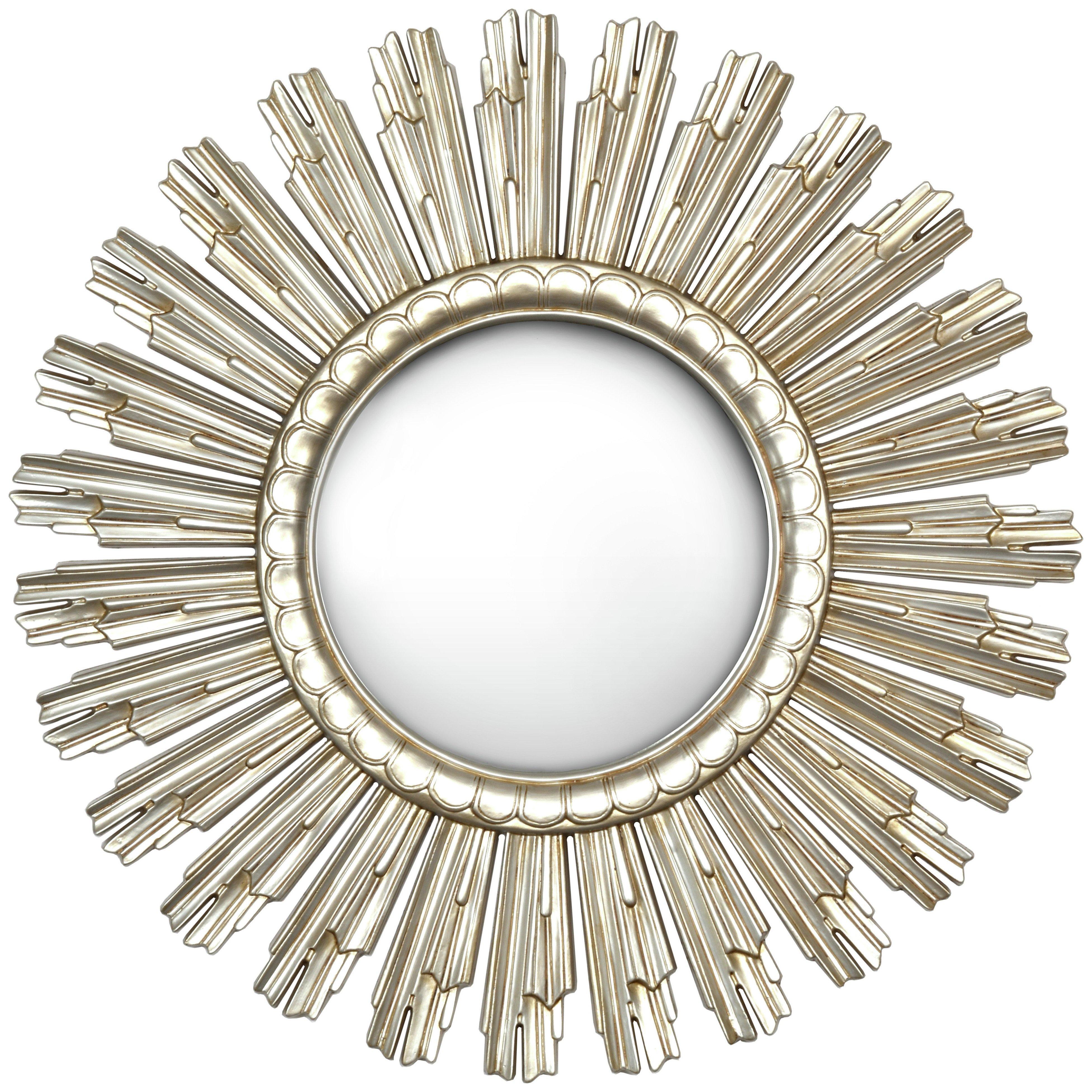 Sundial Mirror - Champagne Gold