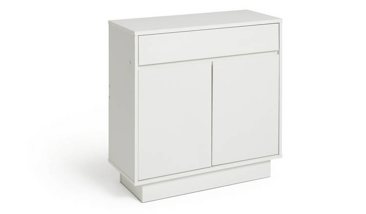 Habitat Cubes Small Sideboard - White