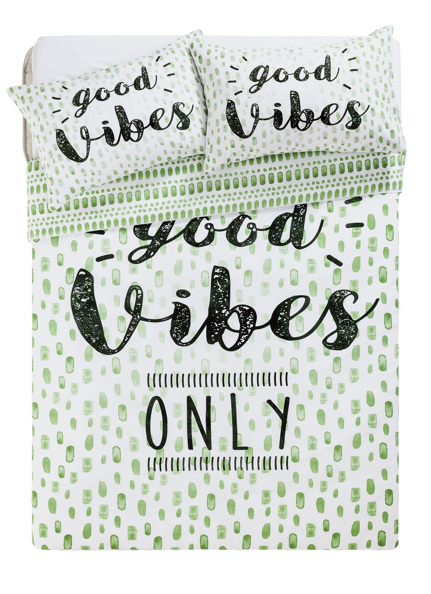 home good vibes bedding set  double