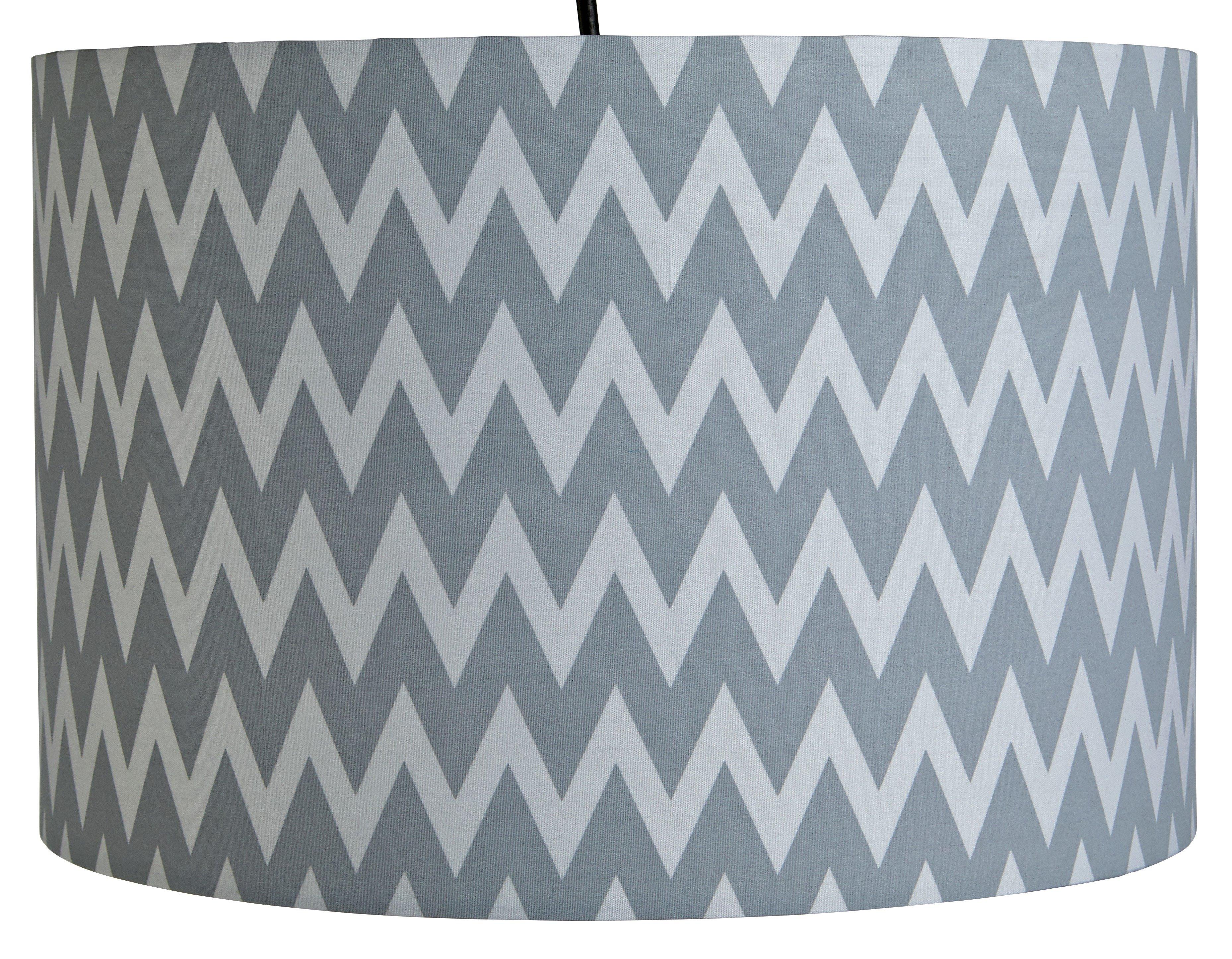 Argos Home Wave Pendant  Light Shade - Grey & White