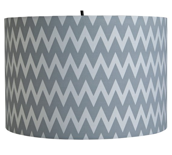buy argos home wave pendant light shade grey white lamp shades