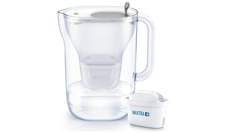 Brita Style Fridge Water Filter Jug - Grey