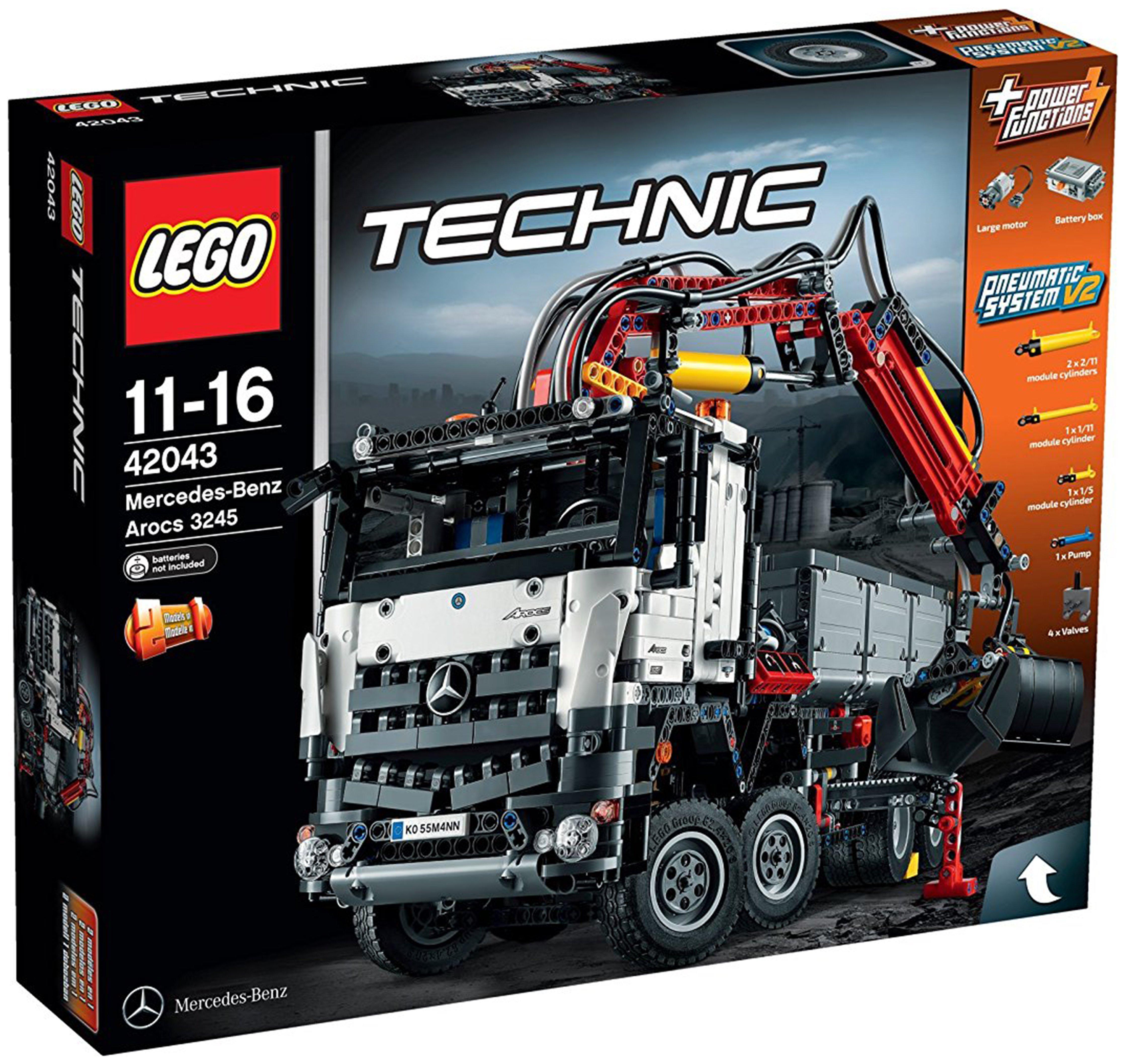 Image of LEGO Technic Mercedes-Benz Arocs - 42043