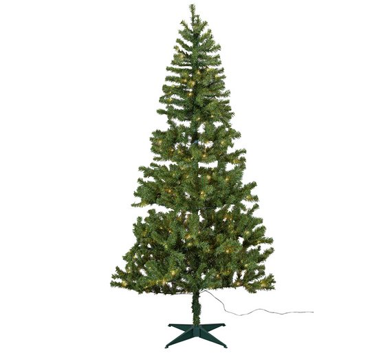 Argos Home Nordland 7ft Pre-Lit Christmas Tree - Green - Buy Argos Home Nordland 7ft Pre-Lit Christmas Tree - Green