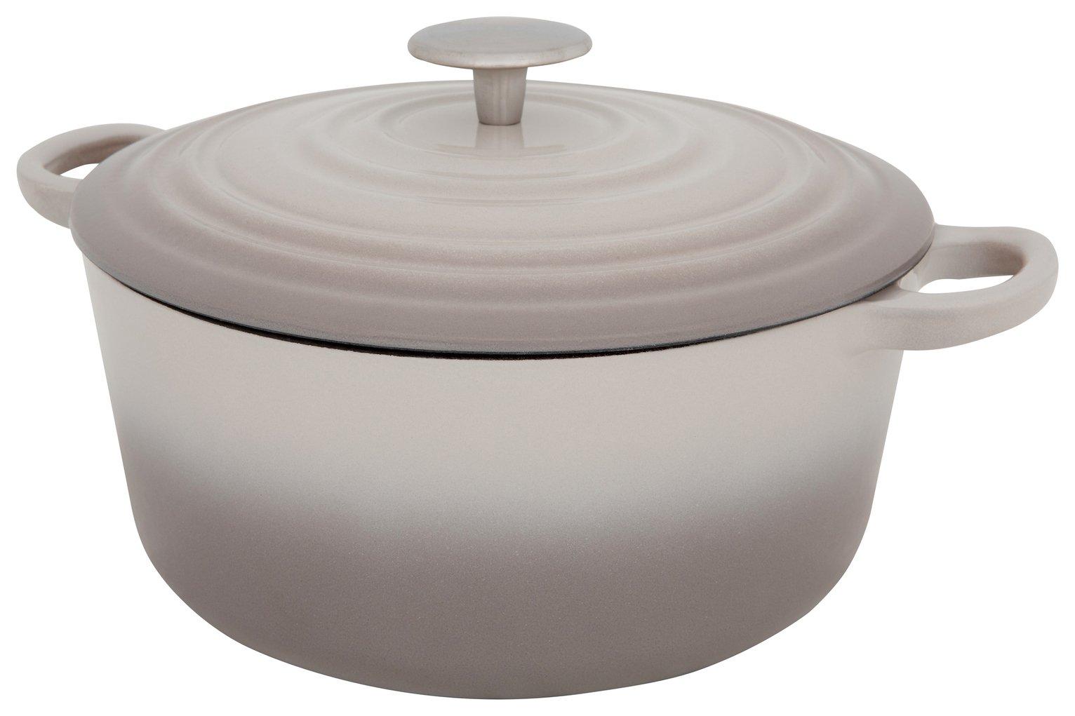 Sainsbury's Home 3.3 Litre Cast Iron Casserole Dish