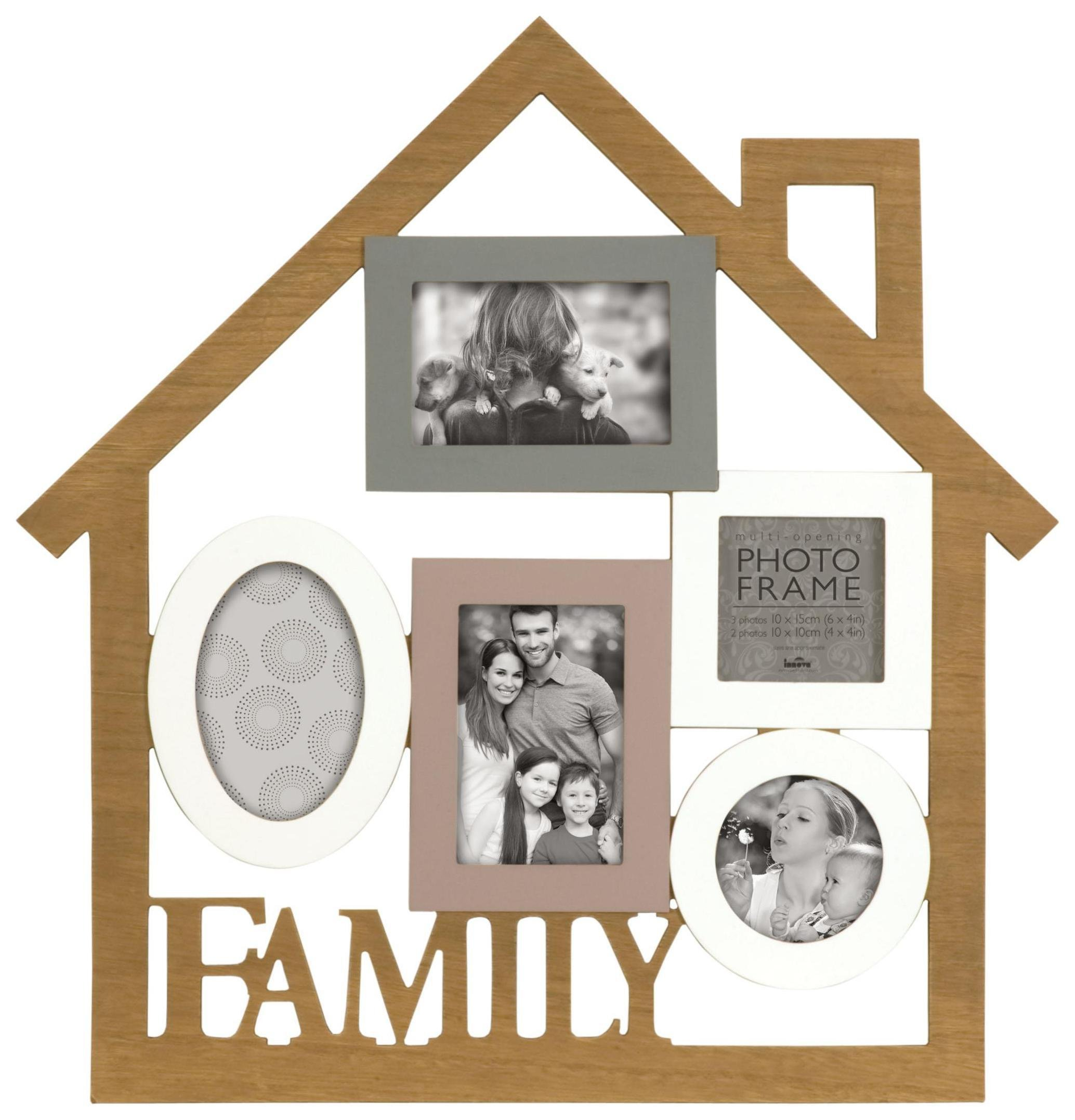 Image of Madeira 5 Opening Family Photo Frame.