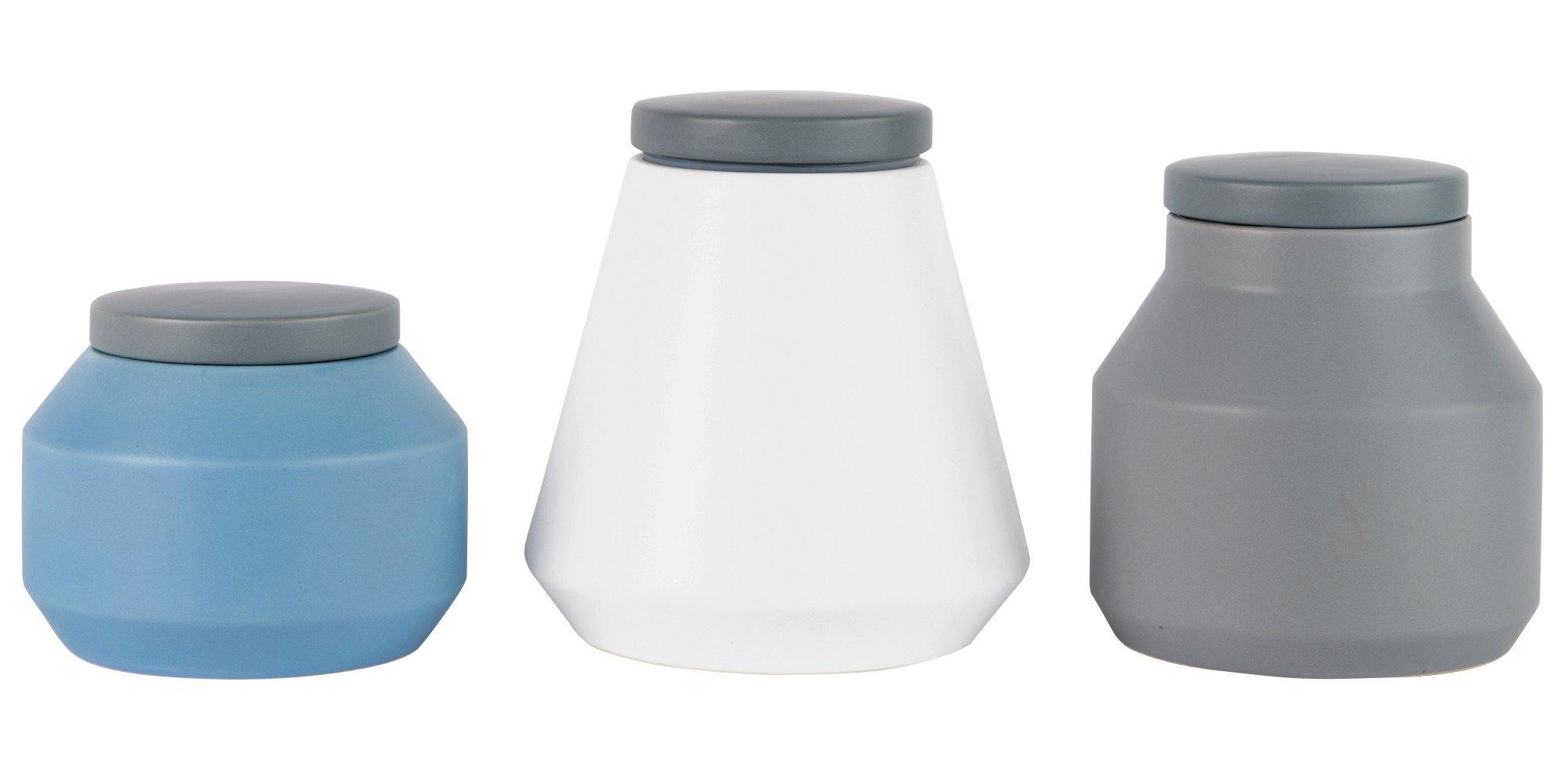 Hygena Set of 3 Storage Jars