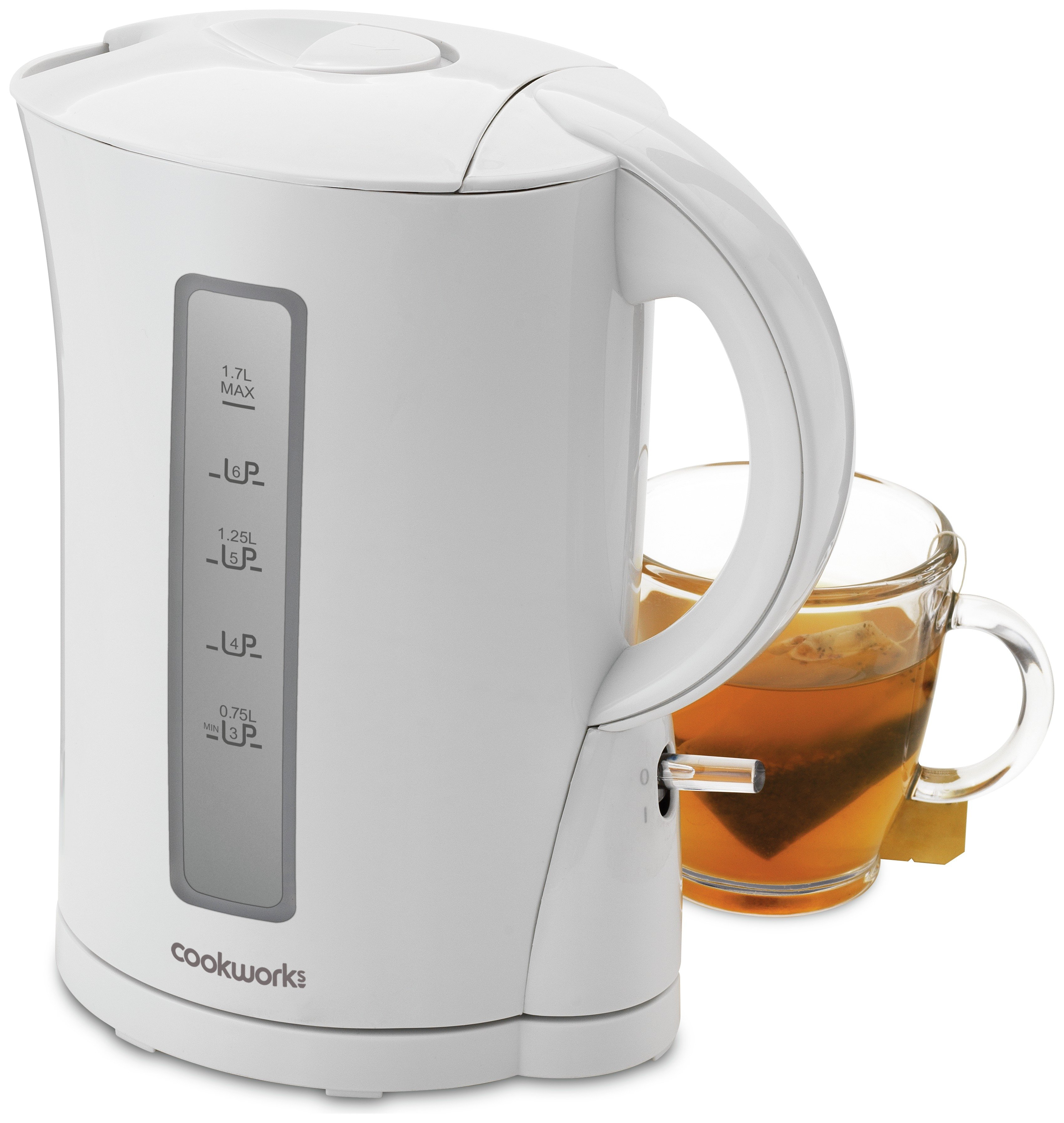 Cookworks Kettle - White